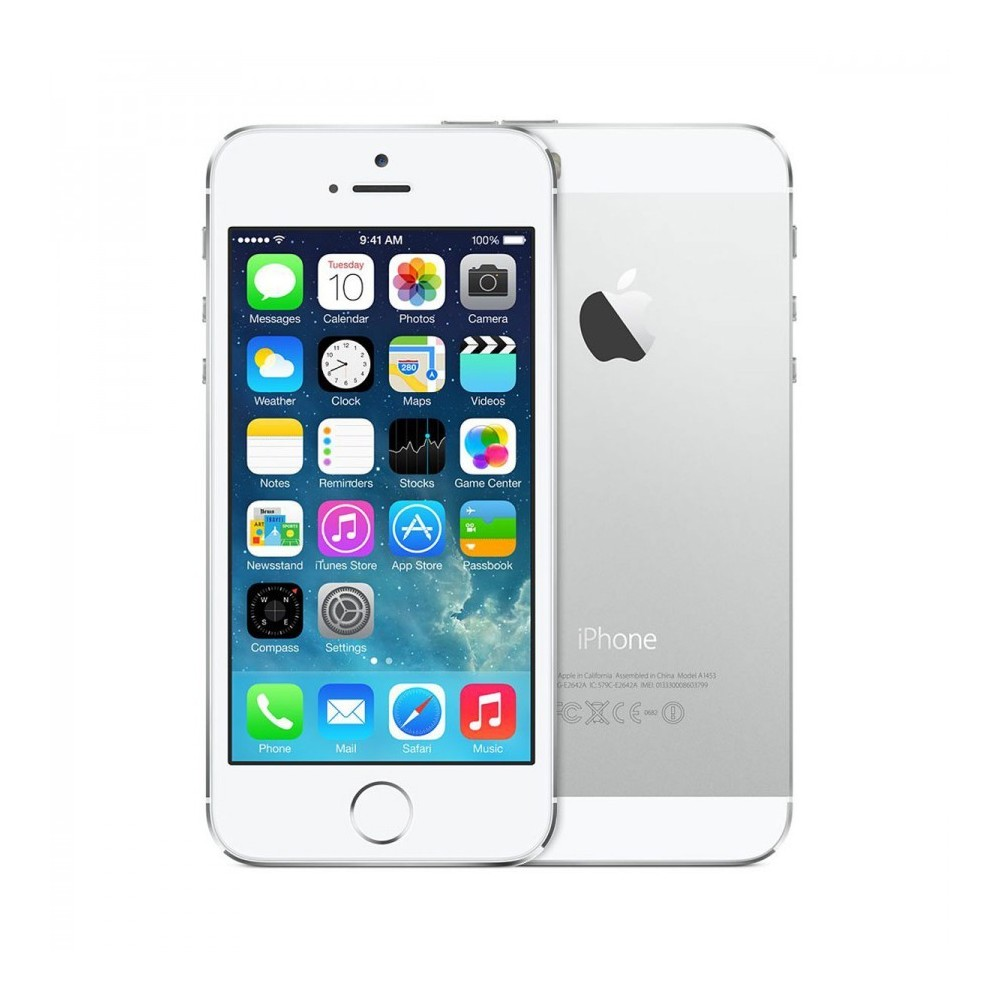iphone 5s 16gb blanc et argent comme neuf reconditionn 179. Black Bedroom Furniture Sets. Home Design Ideas