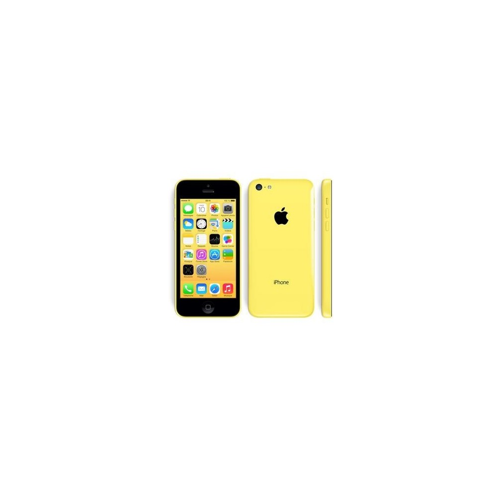 iphone 5c 16gb jaune comme neuf reconditionn 139. Black Bedroom Furniture Sets. Home Design Ideas