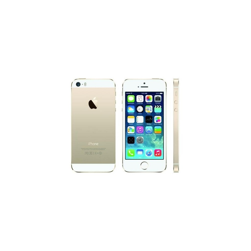 iphone 5s 32gb blanc et or comme neuf reconditionn 196. Black Bedroom Furniture Sets. Home Design Ideas